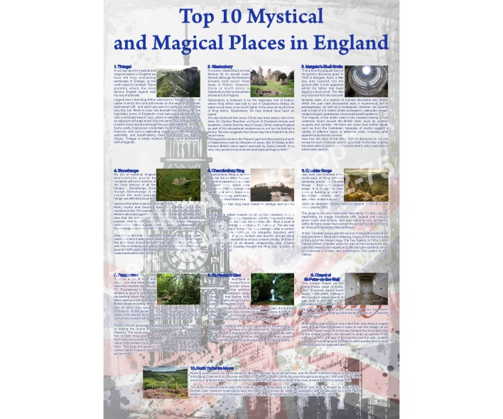 Top 10 Mystical and Magical Places in England
