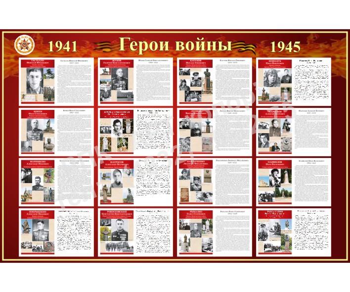 Герои войны 1941-1945